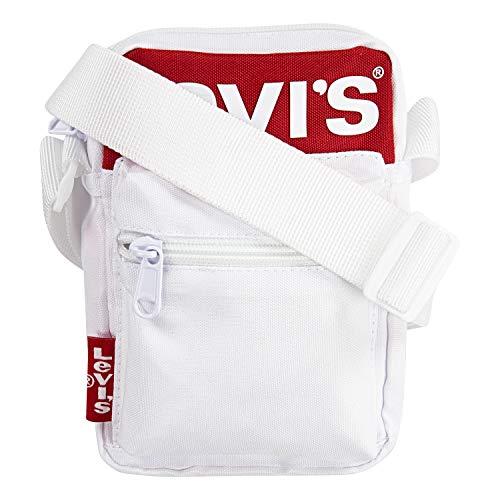 Levi's Kids' Big Crossbody Bag, White/Red, O/S