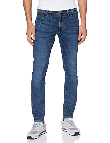 Wrangler Bryson Jeans Skinny, Blu (Blue Shot 18X), 30W / 32L Uomo