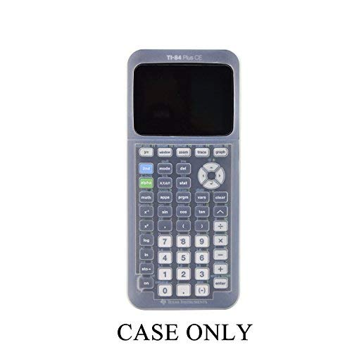 Silicone Case for Ti-84 Plus CE Texas Instruments Graphing Calculator,Soft Protective Ti 84 Plus CE Case …