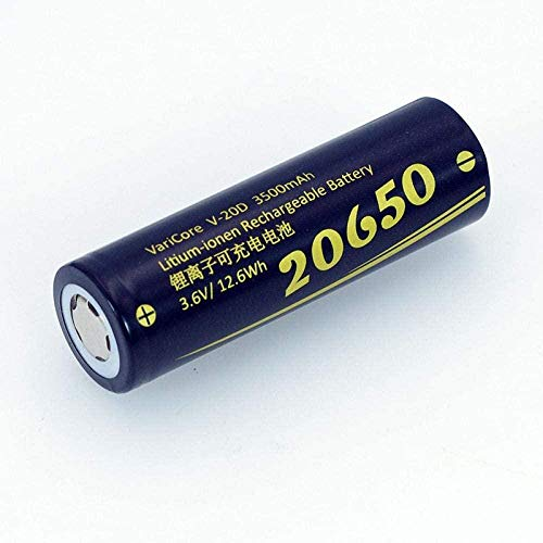 20650 3500Mah 3.7V Batería de Litio para Altavoces Digitales Bluetooth Baterías de Linterna - 6 Piezas