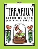 Terrarium Coloring Book: Open, Closed, and Aqua-Terrariums - 28 Pages...