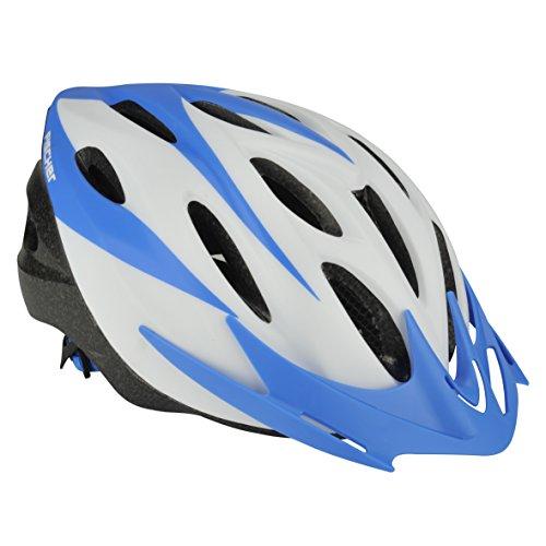 FISCHER Erwachsene Fahrradhelm, Radhelm, Cityhelm, Weiß/blau, S / M