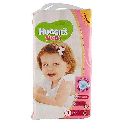 Huggies - Bimba - Pañales - Talla 4 (7 - 18 kg) - 50 pañales