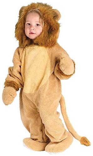 Fancy Me Baby Kleinkind Tier Overall Halloween büchertag Kostüm Kleid Outfit 6 Monate - 2 Jahre - Löwe, 6-12 Months