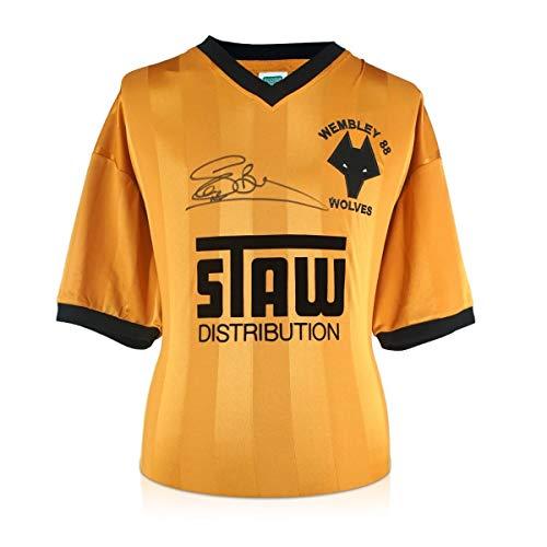 exclusivememorabilia.com Camiseta Wolves 1988 firmada por Steve Bull