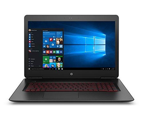 HP OMEN 17-w247nf Nero, Rosso Computer portatile 43,9 cm (17.3') 1920 x 1080 Pixel 2,5 GHz Intel Core i5 di settima generazione i5-7300HQ