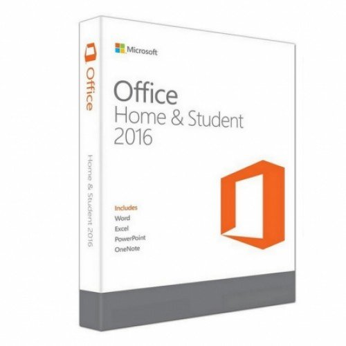 Microsoft 950018 Software Microsoft Office Home & Student 2016