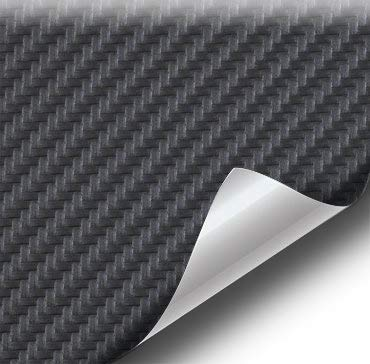 vvivid negro fibra de carbono resistente al agua acabado en piel sintética azul marino Tejido de Vinilo