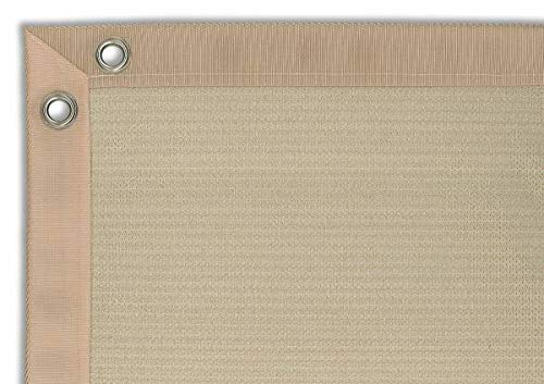 Balkondoek Comfort Shadow Comfort 0.75m x 3.00m Zandkleurig