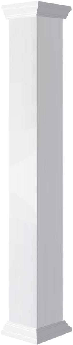 Ekena Millwork Direct sale of manufacturer Popular product CC0606ENPCRCR White Column