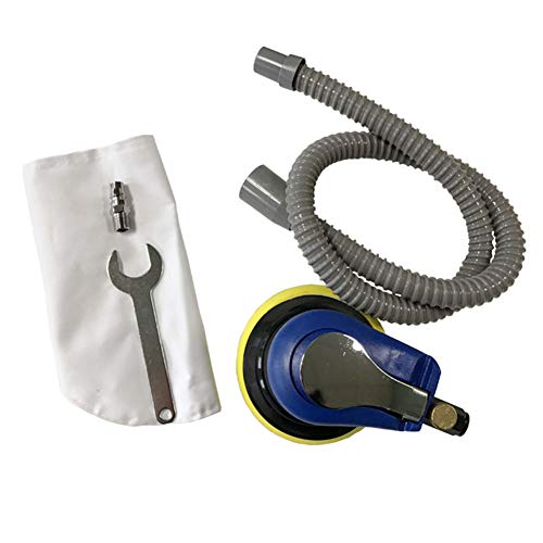 Harwls 5 inch Impulse bandenspanner 6-gaats mat oppervlak Air Sander Grinding polishing machine 1/4 JP Air Inlet