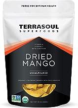 Terrasoul Superfoods Organic Dried Mango Slices, 16 Oz - Naturally Sweet & Tart | No-Added Sugar | Healthy Prebiotic