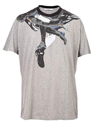 Givenchy Luxury Fashion Herren 16S7324651051 Grau T-Shirt | Jahreszeit Outlet
