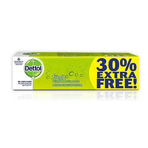 Dettol lather shaving cream 60g+18gfree=78g