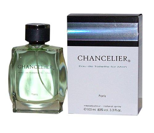 Yves de Sistelle Paris Chancelier Eau de Toilette para hombre, vaporizador, 100 ml, sin lámina