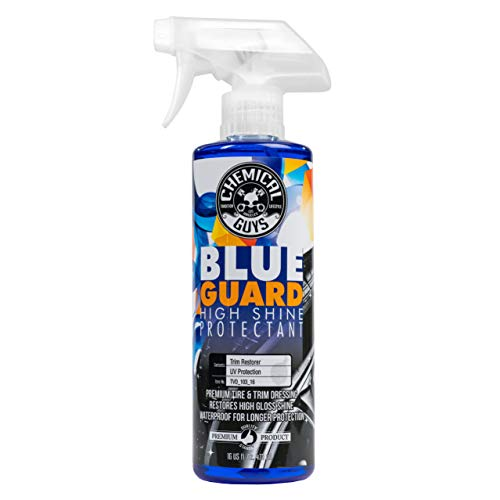 Chemical Guys TVD_103_16 Blue Guard II Wet Look Premium Sprayable High Gloss Shine Dressing and Conditioner for Rubber and Plastic (16 oz)