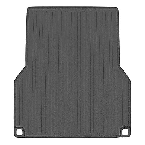 SMARTLINER Truck Bed Rugged Rubber Liner Mat for Toyota Tacoma 2005-2020 with 5 ft Long Bed