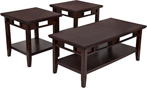 Flash Furniture Signature Design by Ashley Logan 3 Piece Occasional Table Set