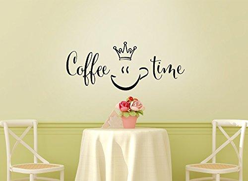 Grandora Muurtattoo Coffee Time keuken II keuken eetkamer eetkamer koffiehoek sticker sticker wandsticker W923