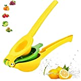 Squeezer al limone, impugnatrice manuale professionale in lega di alluminio portatile spremiagrumi da cucina utensili da cucina, per limone arancione