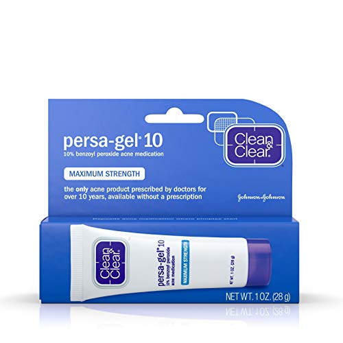 Clean & Clear Persa-Gel 10 Acne Medication Spot Treatment with Maximum Strength...