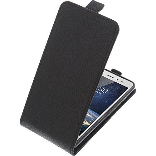 foto-kontor Tasche für TP-Link Neffos X1 Lite Smartphone Flipstyle Schutz Hülle schwarz
