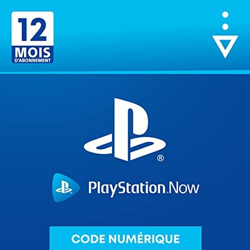 Sony PlayStation Now, Carte dabonnement de 12 mois, Code jeu à télécharger, Compte Français