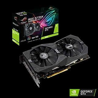 ASUS ROG Strix GTX 1650-A4G-GAMING - Tarjeta gráfica (GeForce GTX 1650, 4 GB, GDDR5, 128 bit, 896 Cuda Núcleos, 1710 MHz, HDMI, DisplayPort, DVI, PCI Express 3.0 x 16)