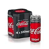 Coca - Cola Zero Lattine, 4 x 330ml