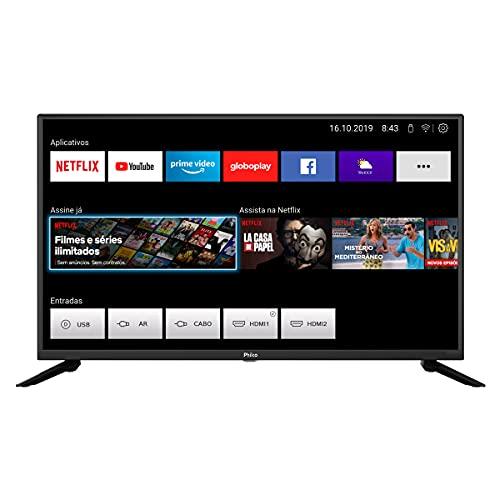 Smart TV, PTV39G60S LED, 39'' Polegadas, Processador Quad Core GPU Triple Core HDR, Conexão Wi-fi, Com 2 entradas HDMI 1 USB, Philco