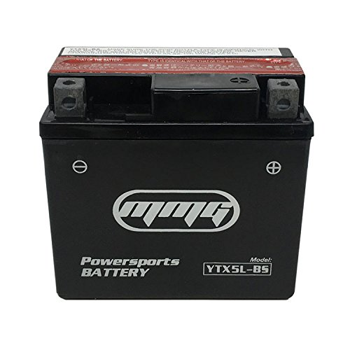 MMG YTX5L-BS ATV Battery for Arctic Cat E-Ton Honda Kasea Kawasaki Replaces M32X5B