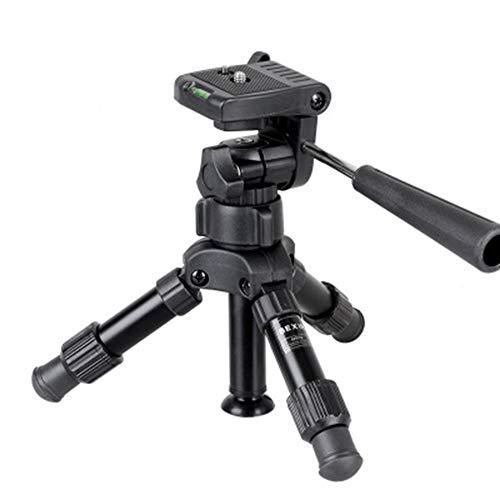 Guoqing Hochleistungsstativ, Telefonkamera Tabletop Mini-Stativ Handy-Cliphalter, kompatibel mit iPhone, Smartphones, Gopro, Webcams, Kompaktkameras Dslrs