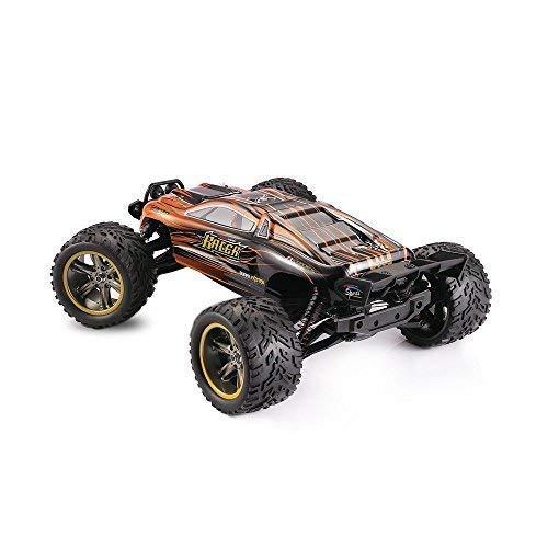 RC Auto kaufen Truggy Bild 5: MODELTRONIC Autoradio-Fernbedienung Truggy Scale 1/12 2,4G / Geschwindigkeit 40 km/h / LiPo-Akku enthalten / Car RC XINLEHONG GPTOYS S912 ferngesteuertes Spielzeugauto (Orange Truggy 9116)*