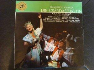 Die Csardasfürstin [Vinyl LP]