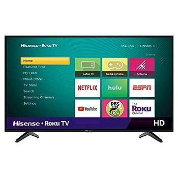 Hisense 40-Inch Class H4 Series LED Roku Smart TV with Alexa Compatibility  40H4F 2020 Model