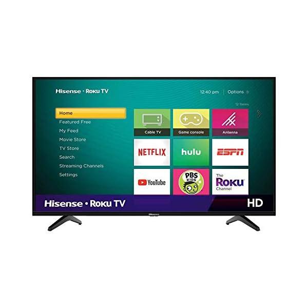 Hisense Class H4 Series LED Roku Smart TV with Alexa Compatibility