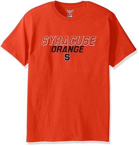 Champion NCAA Men's Short Sleeve Graphic T-Shirt Syracuse Orange XX-Large
