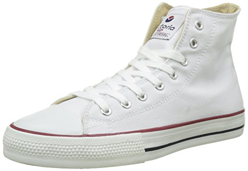 Victoria Botin Basket Autoclave, Zapatillas Altas para Mujer, Blanco, 41 EU