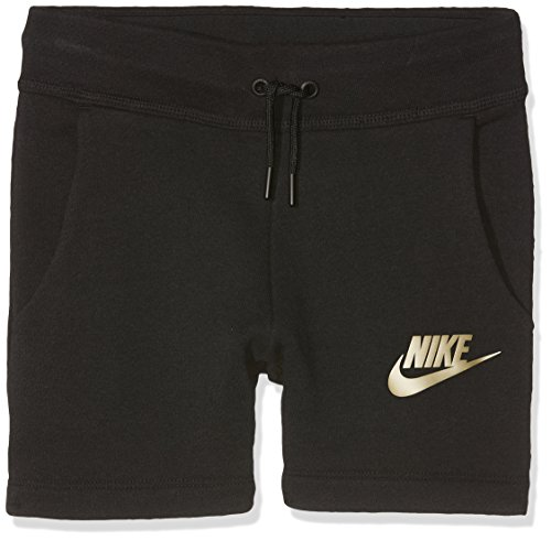 Nike Mädchen Sportswear Modern Shorts, Black/Black, XS