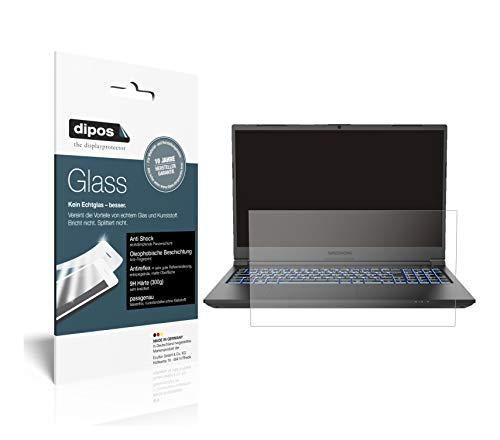 dipos I Screen Protector matte compatible with Medion Erazer Crawler E10 Flexible Glass 9H Display Protection