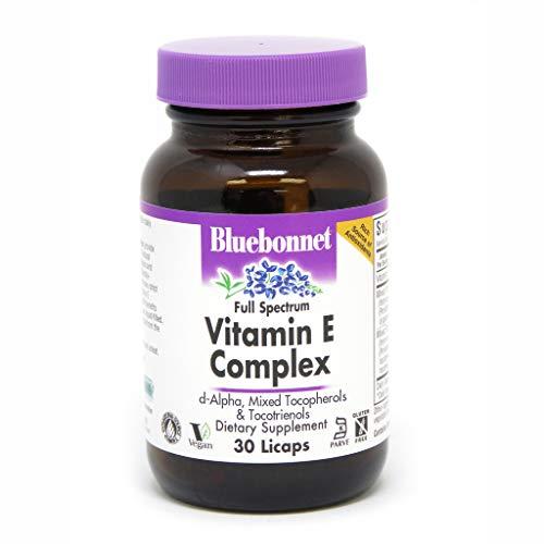 BlueBonnet Full Spectrum Natural Vitamin E Complex Liquid Capsules, 30 Count