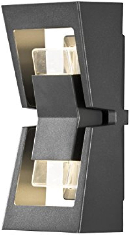 Konstsmide Auenwandleuchte, Metall, Integriert, silber, 0 x 0 x 0 cm