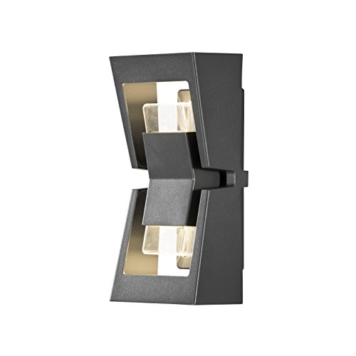 Konstsmide Potenza Easy Fit Up and Down Applique Murale Haute Puissance 8 W LED Aluminium Anthracite