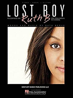 Ruth B - Lost Boy Piano/Guitar Vocal Music