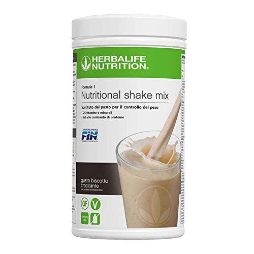 Herbalife Formula 1 Shake zur gesunden Ernährung/zum Abnehmen/als Mahlzeitersatz - 550 g - Cookies & Cream