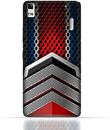 Lenovo A7000/Lenovo K3 Note TPU Silicone Case With Geometric Mesh Pattern Design