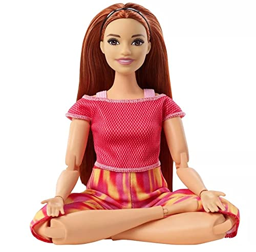 Boneca Barbie Feita para Mexer Ruiva - To Move Articulada - 2021