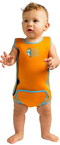 Cressi Warmer Bañador, Unisex bebé, Naranja, 12/18 Meses