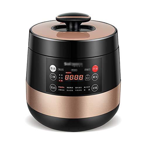 XIAOFEI Lent Cuisinier Autocuiseur Électrique Cuire Et Chaleureux 12 Intelligent Programmes Riz Cuisinier Lent Cuisinier Yaourt Fabricant Garder- Chaud Fonction 5L