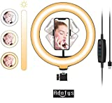 "Adofys 10"" LED Ring Light-Selfie Ring Light for Makeup,Live Streaming YouTube Video Shooting"